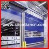 Door (ST-001)の上の明確な部屋Fast Fabric Rolling