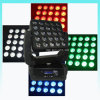 25PCS Matrix Blinder 크리 말 RGBW LED Moving Head Light