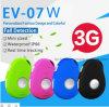 3G, GPS Tracker resistente al agua para uso personal/niño/adulto con sos llamada EV-07W.