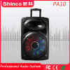 Shinco 10 '' beweglicher Bluetooth Karaoke-Laufkatze-Lautsprecher