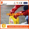 Ddsafety 2017 Rot Belüftung-glatter fertiger Baumwollzwischenlage-Sicherheits-Handschuh