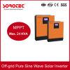 Inversor solar incorporado de la energía solar del regulador 1-5kVA de seno de la apagado-Red del inversor puro MPPT de la onda