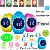 WiFi 또는 다중 기능 D11를 가진 아이 Lbs 또는 아이 지능적인 GPS 추적자 시계