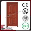 Дверь PVC новой конструкции нутряная деревянная для спальни (WX-PW-106)