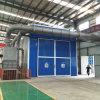 De grote Structuren die van het Staal Zaal met het Automatische Schurende Systeem van het Recycling (Q26) zandstralen