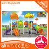 Jardín de infancia Niños plástico al aire libre patio de recreo Estructura de la diapositiva