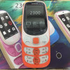 Téléphone mobile multilingue déverrouillé refourbi de GM/M de téléphone de Nokia 2300