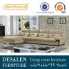 Modernes Spitzenkorn-echtes Leder-Sofa (A26)