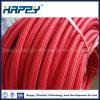 A matéria têxtil industrial da trança do fio R5 cobriu a tubulação de borracha hidráulica