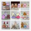 O brinquedo macio do luxuoso encheu presentes relativos à promoção da promoção dos brinquedos 10cm dos presentes dos ursos da peluche