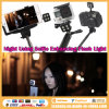 Monopod Selfie LED Taschenlampe Iblazr