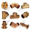 OEM Service Bronze와 Brass Pipe Fittings