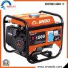 De 4-slag van Wd1500 1kw/1kVA/Wd154 Portable Gasoline/Petrol Generators voor Home Use met Ce