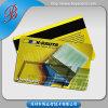 Cartes de piste magnétique de PVC de plastique de norme de l'OIN