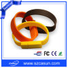 PVC 주문 실리콘 팔찌 USB 섬광 드라이브
