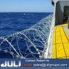 海賊かみそりワイヤーコイル/船の機密保護かみそりのワイヤー/船の保護アコーディオン式かみそりワイヤー
