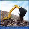Mini máquina del excavador del sistema hydráulico con pequeña capacidad del compartimiento