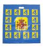 Las bolsas de plástico impresas calidad del LDPE de Hight para la ropa (FLD-8507)
