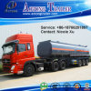 2-3 차축 25t-50t Flammable Liquid Fuel Oil Chemical Tank Semi Truck Trailer (43m³) (LAT9350GRY)