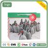Weihnachtsgrünes nettes Pinguin-Muster-Papierbeutel