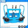 Máquina dobro automática da fabricação de cabos do Pay-off do eixo da elevada precisão