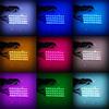2017 heiße verkaufendes auto-9LED Streifen-Atmosphären-Selbstlichter Atmosphäre RGB-Telefon APP-umgebende des Auto-LED für Auto-Dekoration-Zubehör