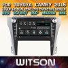 DVD van de Auto van de Vensters van Witson de Speler Van verschillende media voor Toyoya Camry 2015