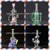 Eindeutiges Entwurf USA-Farben-glänzendes Glas-rauchende Wasser-Rohr-Ölplattformen