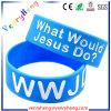 Bracelet de bracelet de silicones rempli par couleur faite sur commande de promotion pour le cadeau