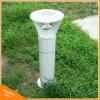 Lampada di palo solare di alluminio di paesaggio del giardino dell'indicatore luminoso LED del prato inglese