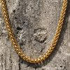 Золото Franco людей 14K приковывает ожерелье для людей Mjcn050