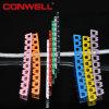 Закодированные цветом отметки кабеля