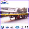 Rimorchio del contenitore della piattaforma degli assi di trasporto marittimo 30t 3 della fabbrica