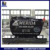 Headstone commemorativo della pietra nera del granito di sconto per il cimitero