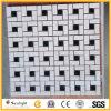 Mosaicos de mármore brancos/pretos da cozinha/banheiro para o assoalho e a parede