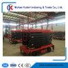 levage mobile électrique de ciseaux de 11m de la capacité 500kg évaluée