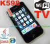 WiFi 아날로그 텔레비젼 3.5 인치 이동 전화