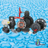 UPVC y CPVC Butterfly Valve para Water Supply