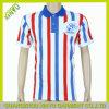 2017 Form-vertikaler Streifenbeiläufiges kundenspezifisches Mens-Polo-Hemd