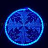 2017 جديدة [لد] عيد ميلاد المسيح مهرجان زخرفة أكريليكيّة نيون الحافز ضوء