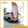 Promoção de eventos de impressão digital em fibra de bandeira de praia/Arvorando pavilhão