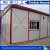 T-Tipo casa modular de la estructura de acero de la luz del bajo costo de la casa prefabricada prefabricada de la casa del material de construcción y de los paneles de acero de Sanwich