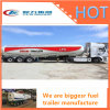 Réservoir de pétrole brut de pétroliers semi-remorque de carburant/Petroleum 45000L'acier semi-remorque-citerne à carburant