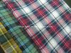 면 털실 염색한 검사 Flannel 직물은을%s 가진 기지개한다 Lz5908