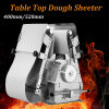 Massa de pão profissional Sheeter do assoalho da máquina 520mm/400mm do cozimento/da tabela pastelaria