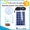 lampada solare di controllo di 18PCS-2835 LED 6V8w Waterproof&Light con Lifespan15-25years SL1-8W