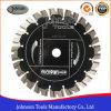 Turbo de 230 mm de la hoja de sierra de diamante sinterizado segmentada para corte de Granito