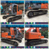 Máquina escavadora hidráulica usada da esteira rolante da máquina escavadora Zaxis120 de Hitachi para a venda
