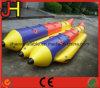 Barca di banana gonfiabile del tubo del pattino della mosca dell'acqua dei 10 giocatori per lo sport