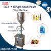 Type vertical pâte de piston et machine de remplissage principales simples de liquide pour le yaourt (GZA-1)